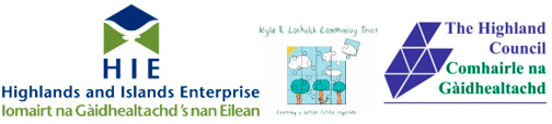 HIE Highland Council Kyle and Lochalsh Community Trust Logos